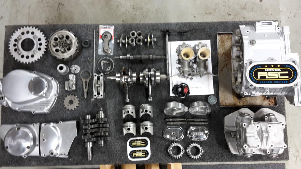 CYB 350 Engine parts